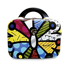 Britto™ Collection by Heys® Butterfly Hardside 12-Inch Beauty Case