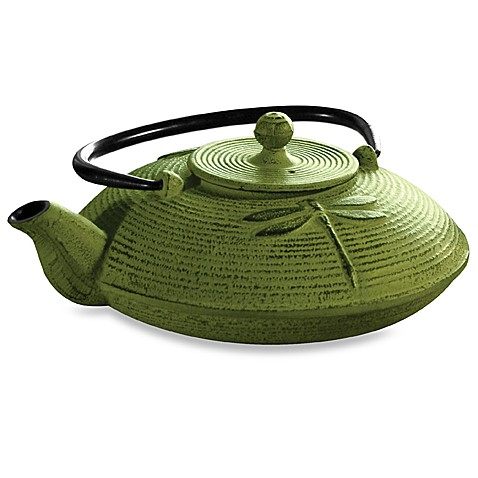 Primula Tea® Cast Iron 28-Ounce Teapot in Green