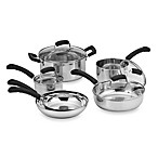 Invitations® Stainless Steel 10-Piece Cookware Set