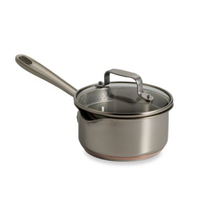 Emerilware™ Stainless Steel 1-Quart Sauce Pan with Pouring Spout