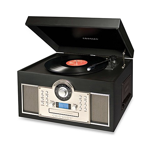Crosley Memory Master Turntable Cd And Cassette Recorder