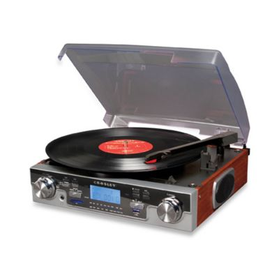 Crosley USB and SD Tech Turntable CR6007A - Mahogany