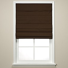 Insola® Chatham Cordless Roman/Cellular Shade in Chocolate