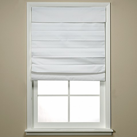Insola® Chatham Cordless Roman/Cellular Shade in White