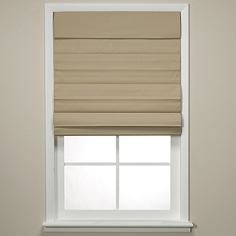 Insola® Chatham Cordless Roman/Cellular Shade in Khaki