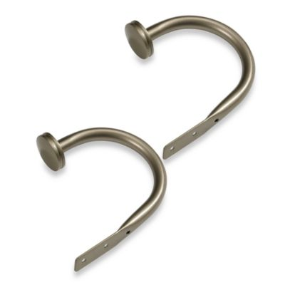 Cambria® Outdoor Living® Decorative Holdback Pair in Brushed Nickel