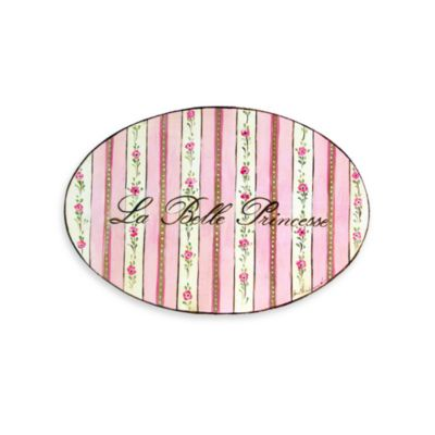 La Belle Princess Wall Plaque