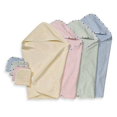 Pink Organic Cotton Towels