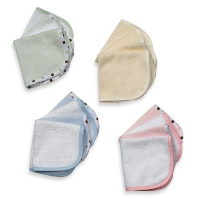 TL Care® Organic Washcloth (Set of 4) in Blue