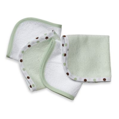 TL Care® Organic Washcloth (Set of 4) in Celery