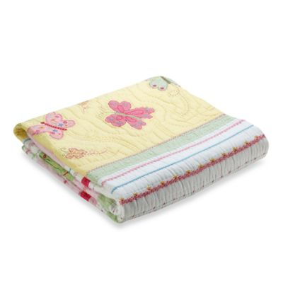 Whistle & Wink™ Butterfly Party Twin Quilt