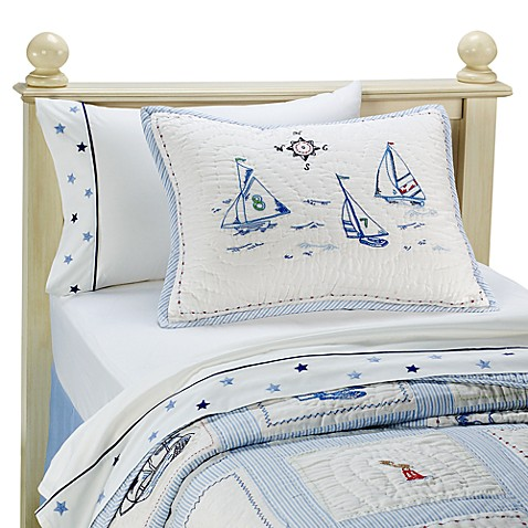 Whistle & Wink™ High Seas Quilt and Accessories