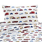 Whistle & Wink™ Cars and Trucks Twin Sheet Set