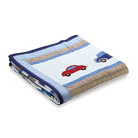 Whistle & Wink™ Cars and Trucks Twin Quilt