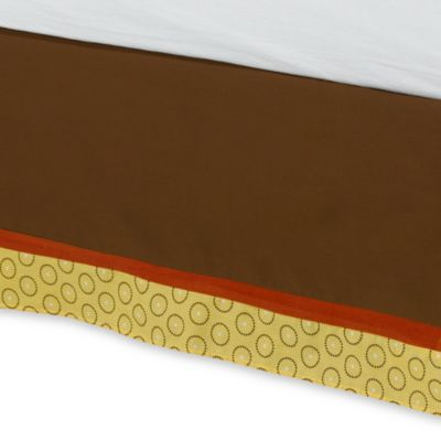 Crib Skirts > kidsline™ Jungle 1,2,3 Twin Bed Skirt