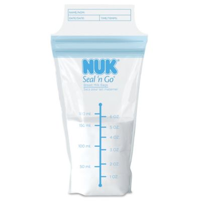 NUK® Seal N' Go® 45-Pack Breast Milk Storage Bags