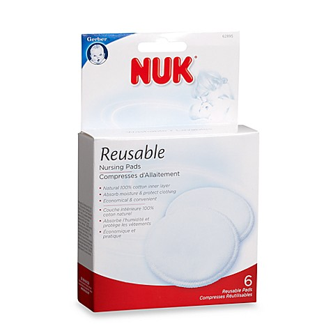 NUK® Reusable 6-Pack Nursing Pads