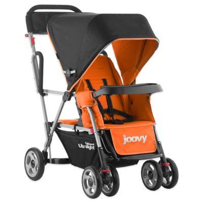 Joovy® Caboose Ultralight Tandem Stroller in Orangie