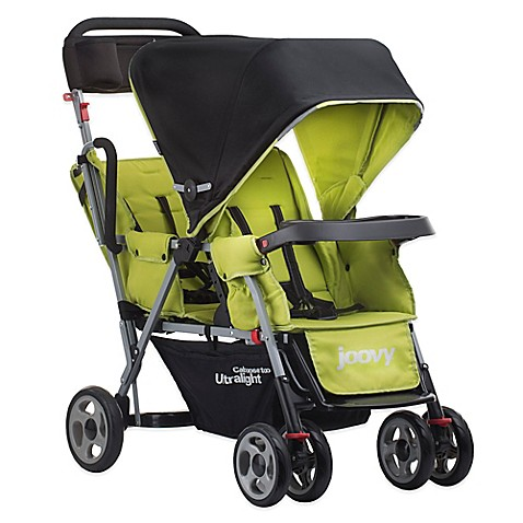 Joovy® Caboose Ultralight Tandem Stroller in Greenie