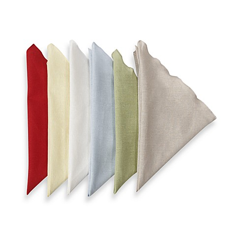 Lettuce Edge Napkins (Set of 6) - Wheat