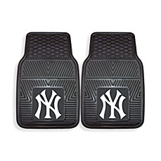 MLB New York Yankees Vinyl Car Mats (Set of 2)