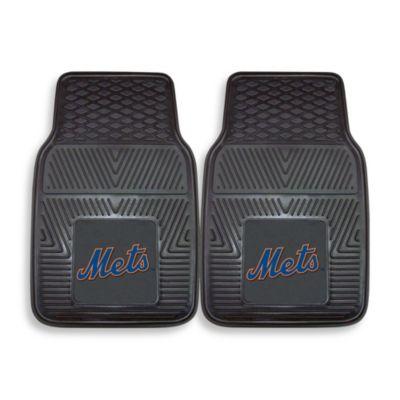 MLB New York Mets Vinyl Car Mats (Set of 2)