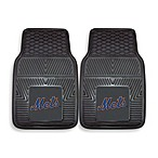 MLB New York Mets Vinyl Car Mats (Set of 2)