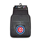MLB Chicago Cubs Vinyl Car Mats (Set of 2)