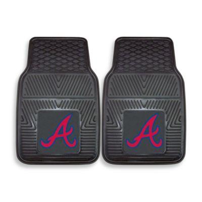 MLB Atlanta Braves Vinyl Car Mats (Set of 2)