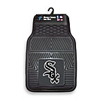 MLB Chicago White Sox Vinyl Car Mats (Set of 2)
