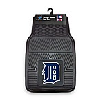 MLB Detroit Tigers Vinyl Car Mats (Set of 2)