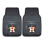 MLB Houston Astros Vinyl Car Mats (Set of 2)