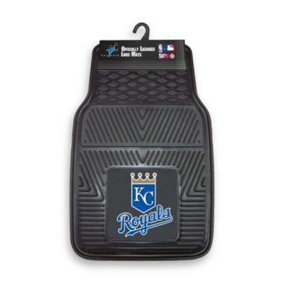 MLB Kansas City Royals Vinyl Car Mats (Set of 2)
