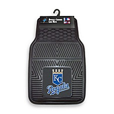 MLB Kansas City Royals Vinyl Car Mats (Set of 2)