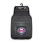MLB Philadelphia Phillies Vinyl Car Mats (Set of 2)