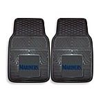 MLB Seattle Mariners Vinyl Car Mats (Set of 2)