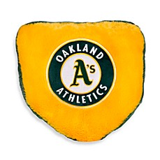 MLB Oakland A's Home Plate Throw Pillow
