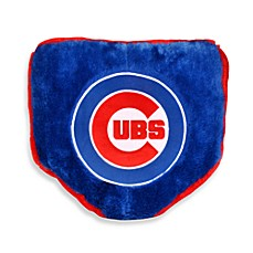 MLB Chicago Cubs Home Plate Throw Pillow