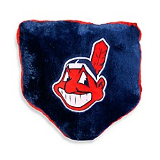 MLB Cleveland Indians Home Plate Throw Pillow