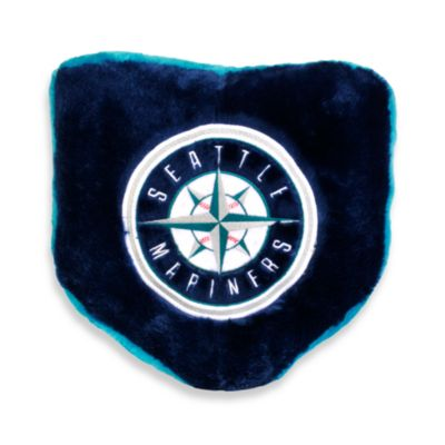 MLB Seattle Mariners Home Plate Throw Pillow