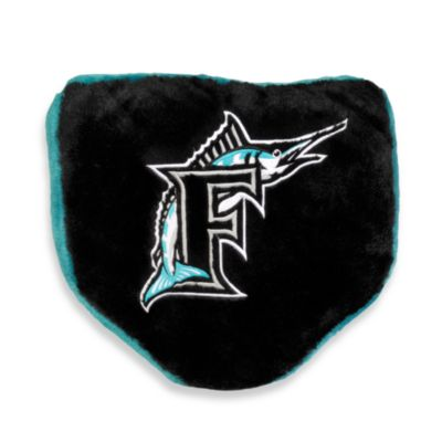 MLB Florida Marlins Home Plate Pillow