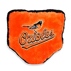 MLB Baltimore Orioles Home Plate Throw Pillow
