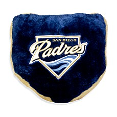 MLB San Diego Padres Home Plate Throw Pillow