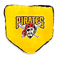 MLB Pittsburgh Pirates Home Plate Throw Pillow