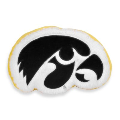 University of Iowa Plush Throw Pillow
