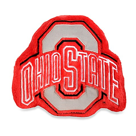 Ohio State Plush Throw Pillow