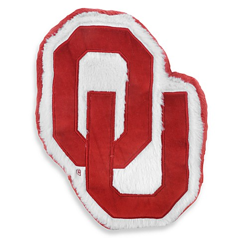 University of Oklahoma Plush Throw Pillow