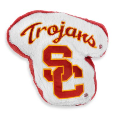University of Southern California Plush Throw Pillow