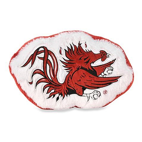 University of South Carolina Plush Throw Pillow
