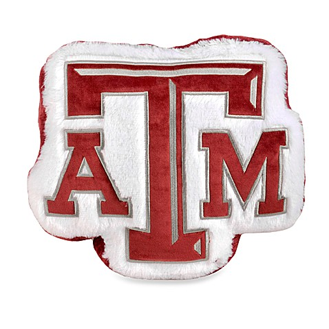 Texas A & M University Plush Throw Pillow